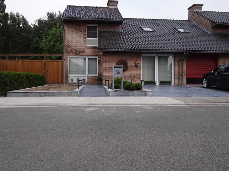 Opritten parkings terrassen plaatsen van klinkers beton asfalt gravier roeselare west - Afbeeldingen van terrassen verwachten ...
