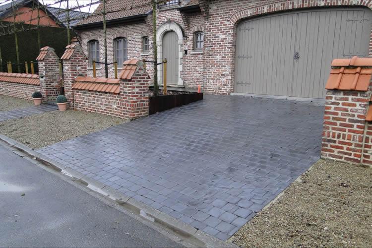 plaatsen van klinkers beton asfalt gravier pictures. Black Bedroom Furniture Sets. Home Design Ideas